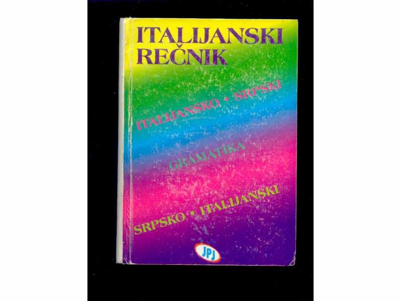 Italijansko srpsko italijanski sa gramatikom