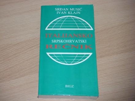 Italijansko-srpskohrvatski rečnik - 420 strana