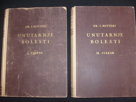 Ivan Botteri, UNUTARNJE BOLESTI I i II