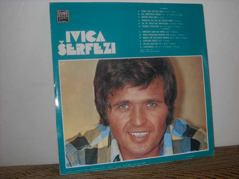 Ivica Šerfezi - IVICA ŠERFEZI