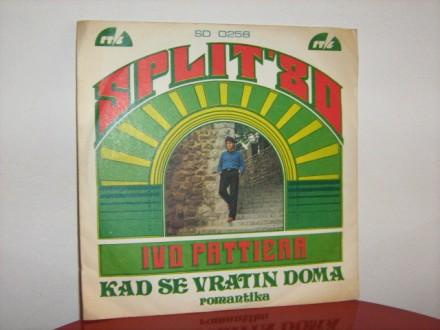 Ivo Pattiera - Kad se vratin doma