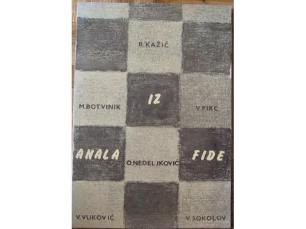 Iz anala FIDE  Kažić Božidar