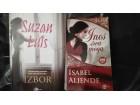 Izabel Aljende i Suzan Luis - dve knjige