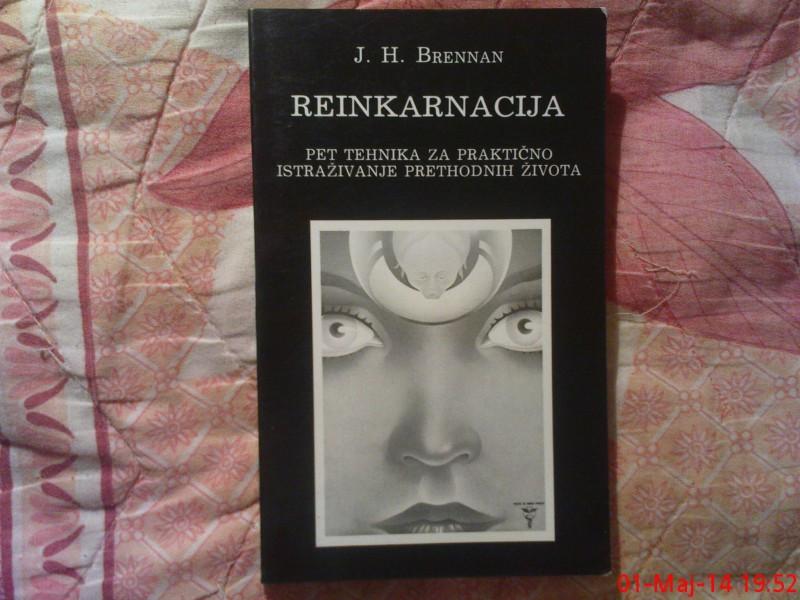 J . H . BRENNAN  -   REINKARNACIJA