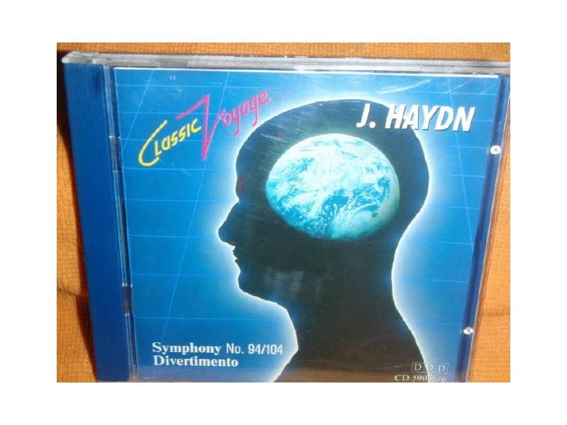 J.Hajdn - Symphony No.94/104,Divertimento(CD)