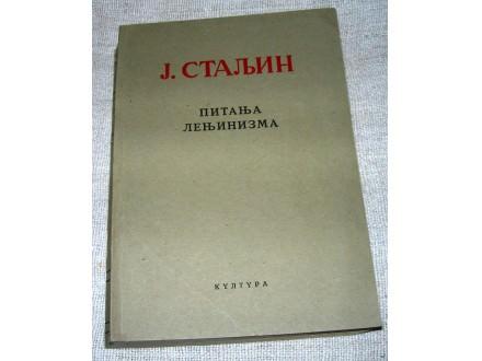 J. Staljin - Pitanja Lenjinizma
