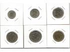J04 Jugoslavija 1-2-5-10-50 i 100 dinara 1993. UNC/AUNC