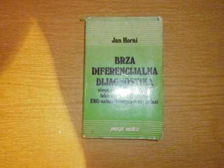 JAN HORNI    BRZA DIFERENCIJALNA DIJAGNOSTIKA