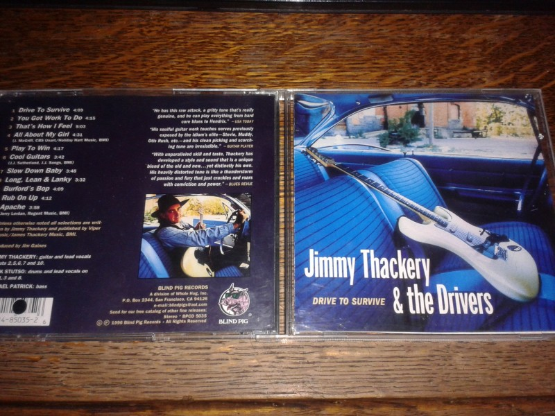 JIMMY THACKERY &; THE DRIVERS-DRIVE TO SURVIVE