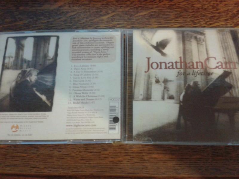 JONATHAN CAIN-FOR A LIFETIME