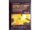 JORNAL OF MINING AND METALLURGY 2017.