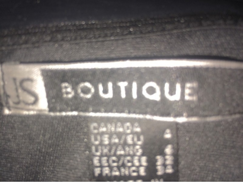 JS Bouitique siva haljina,vel S