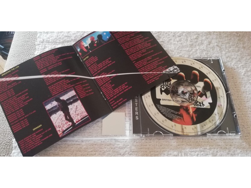 JUDAS PRIEST - BRITISH STEEL!! ORIGINAL!!