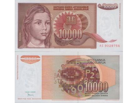 JUGOSLAVIJA 10.000 Dinara 1992 UNC,ST-143/P-116