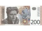 JUGOSLAVIJA 200 DINARA 2001. AUNC ST-185/P-157