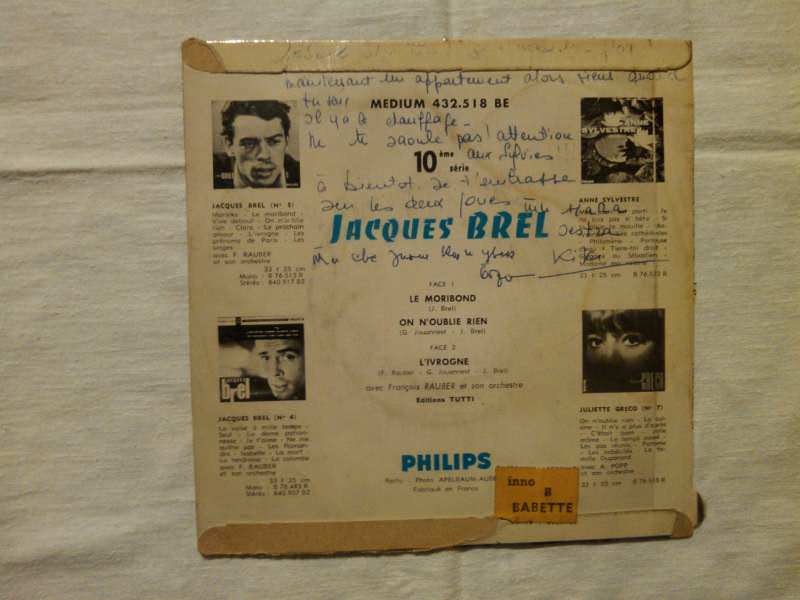 Jacques Brel - Le Moribond