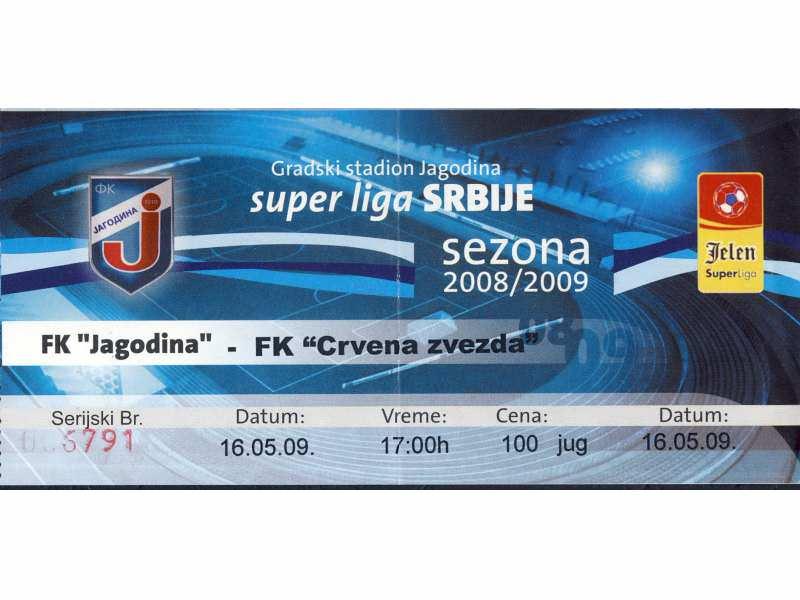 Jagodina - Crvena Zvezda   ,   2009.god.