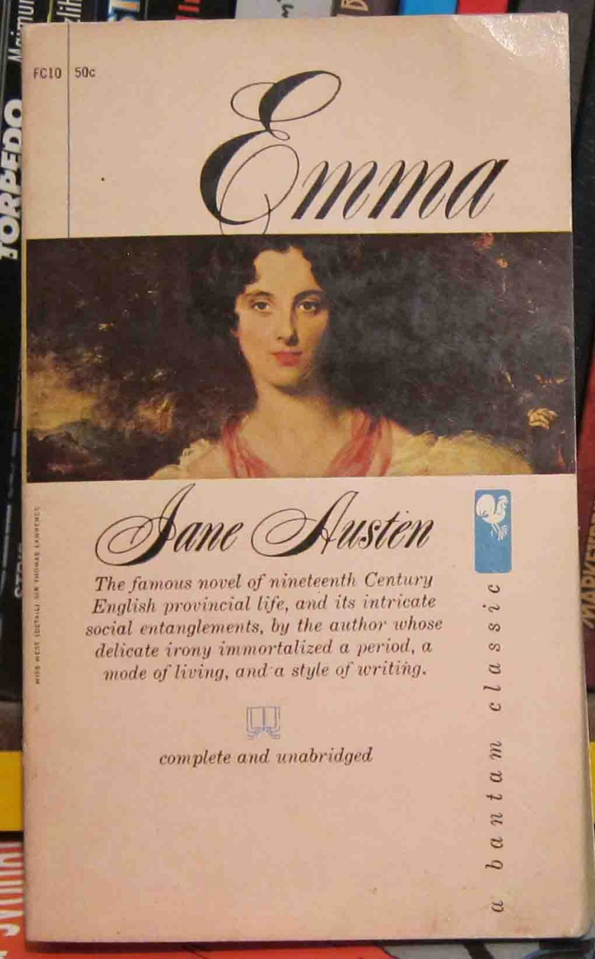 emma a biography of jane austen Emma is a book by jane austenit was first published in the year 1815jane austen readers with the idea of a heroine whom no one but myself will much like when she began writing emma.