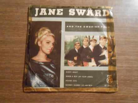 Jane Swärd, Swedish Four, The - Every Night / When A Boy / Hound Dog / Shimmy Shimmy Ko-Ko Bop