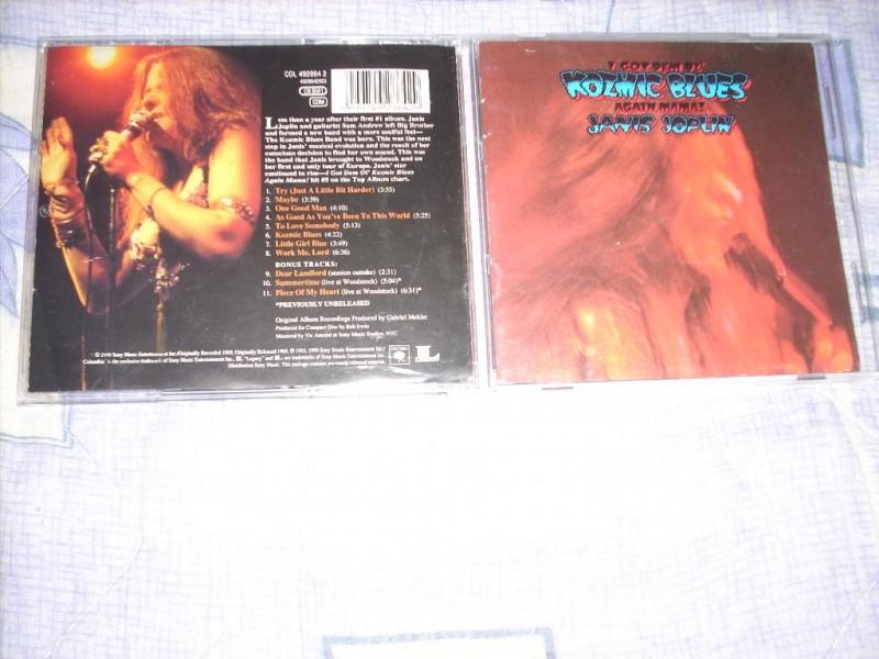 Janis Joplin - I Got Dem Ol` Kozmic Blues Again Mama!CD