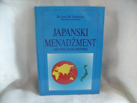 Japanski menadžment, Jovo Todorović