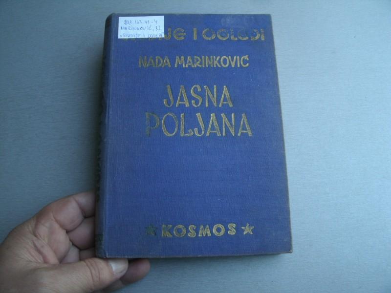 Jasna poljana (studije i ogledi) - Nada Marinković