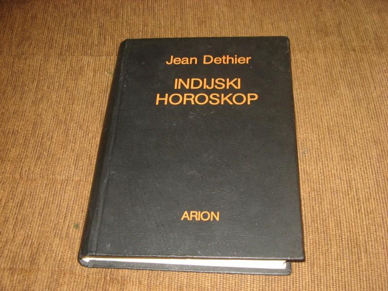 Jean Dethier - Indijski horoskop