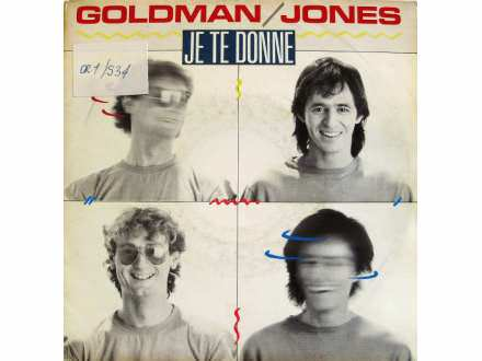Jean-Jacques Goldman, Michael Jones (5) - Je Te Donne