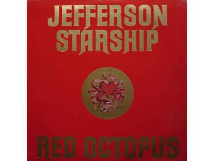 Jefferson Starship - Red Octopus