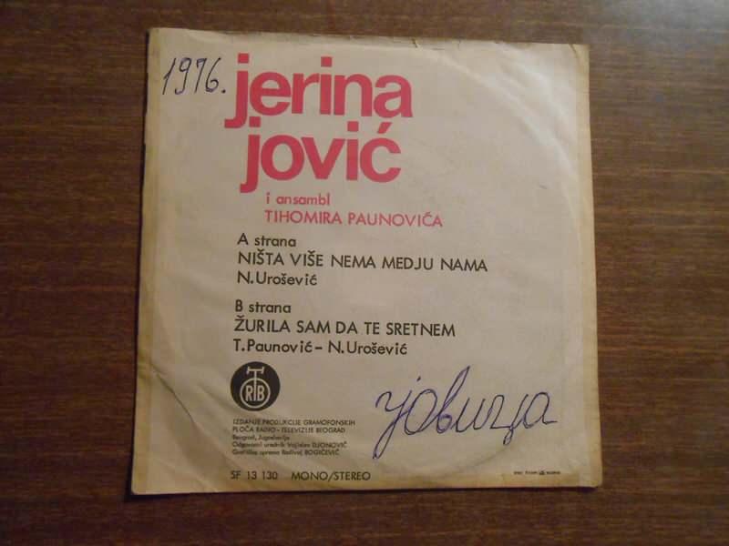 Jerina Jović - Ništa Više Nema Među Nama
