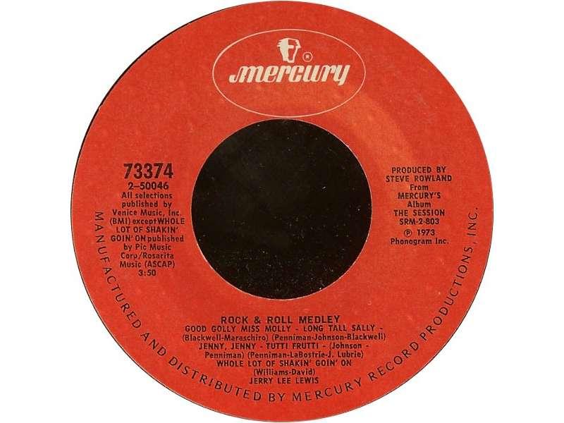 Jerry Lee Lewis - Drinking Wine Spo-Dee O`Dee / Rock & Roll Medley