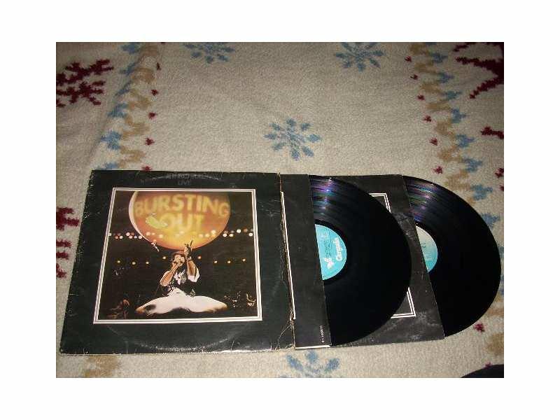 Jethro Tull - Bursting Out: Jethro Tull Live 2LP