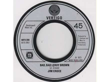 Jim Croce - Bad, Bad Leroy Brown