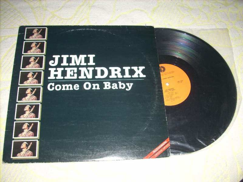 Jimi Hendrix - Come On Baby LP Jugodisk