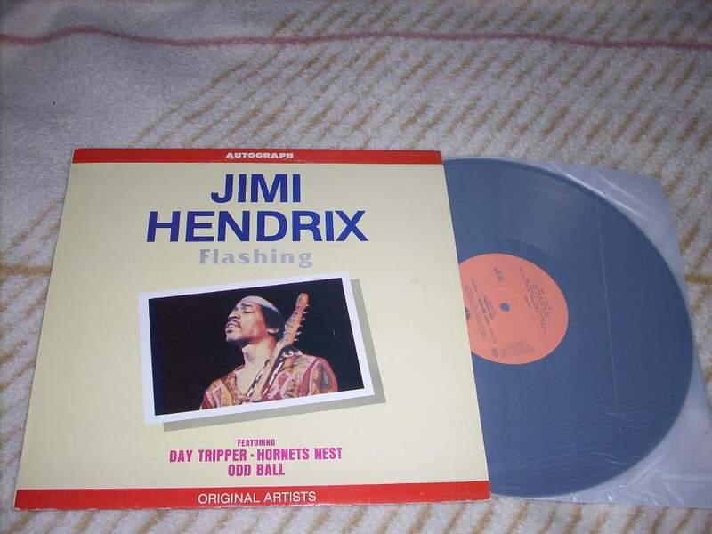 Jimi Hendrix - Flashing LP Jugodisk