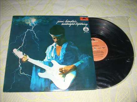 Jimi Hendrix - Midnight Lightning LP RTB