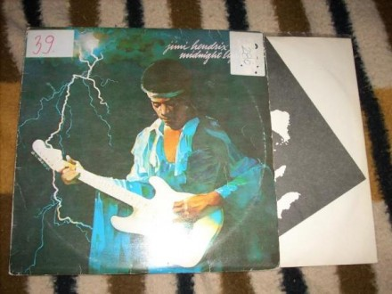 Jimi Hendrix-Midnight Lightning LP