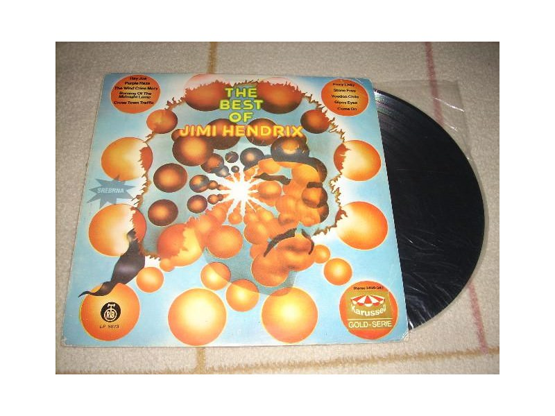 Jimi Hendrix - The Best Of Jimi Hendrix LP RTB