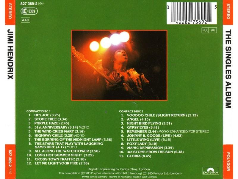 Jimi Hendrix - The Singles Album