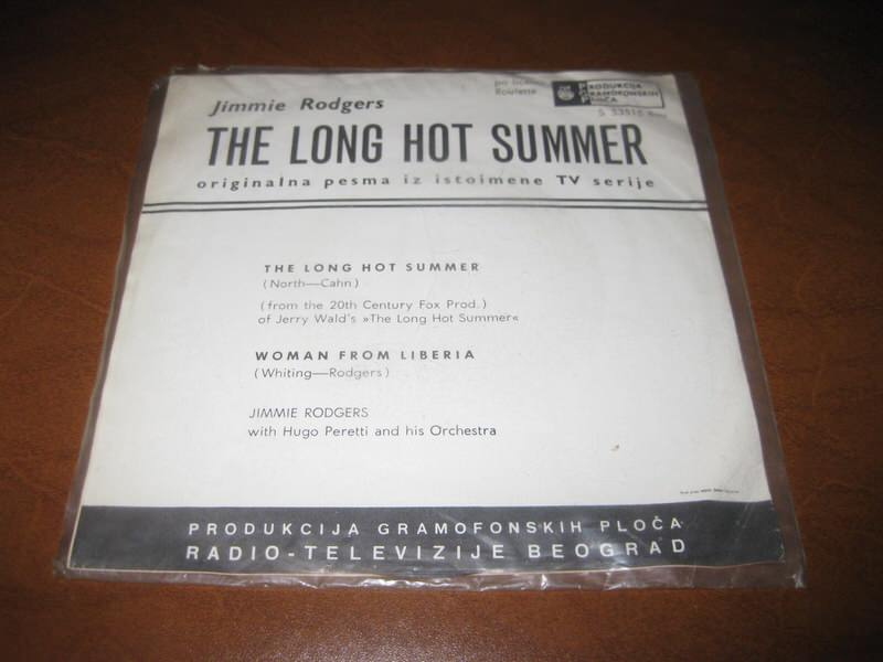 Jimmie Rodgers  - The Long Hot Summer
