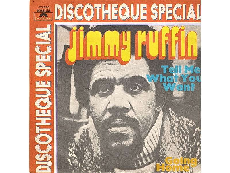 Jimmy Ruffin - Tell Me What You Want
