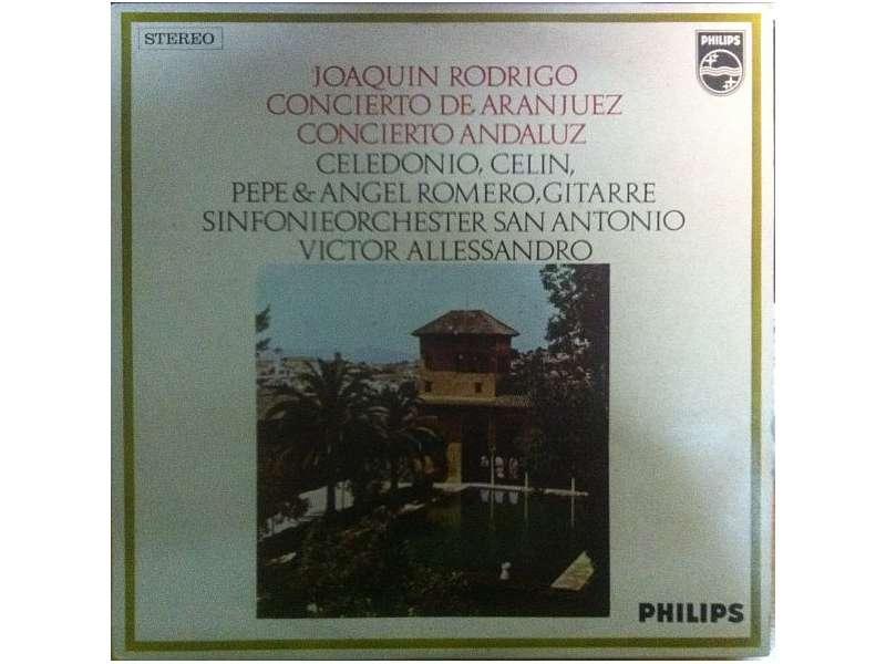 Joaquin Rodrigo, Romeros, The, San Antonio Symphony Orchestra, Victor Alessandro - Concierto De Aranjuez - Concierto De Andaluz