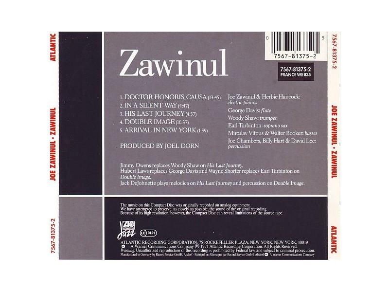 Joe Zawinul - Zawinul