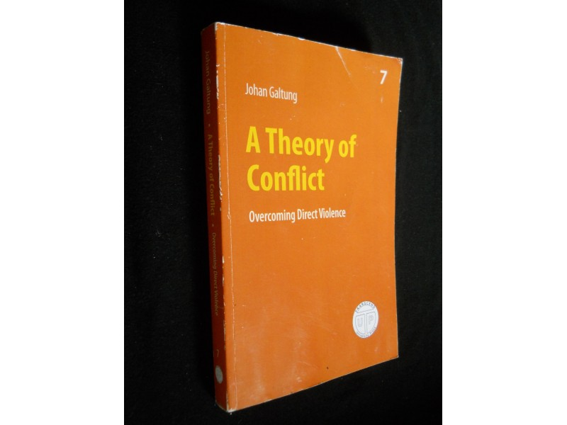 Johan Galtung A THEORY OF CONFLICT