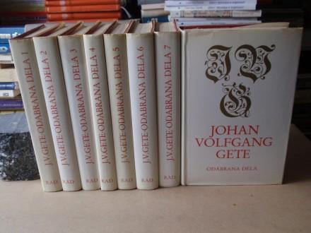 Johan Volfgang Gete - ODABRANA DELA 1 - 8