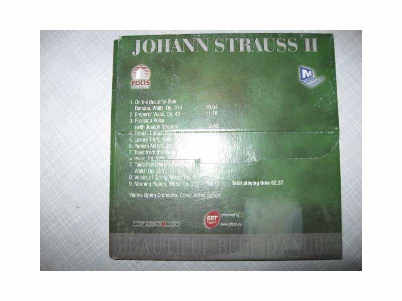 Johann Strauss Jr. - Beautiful Blue Danube