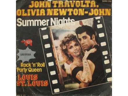 John Travolta, Olivia Newton-John, Louis St. Louis - Summer Nights / Rock `n` Roll Party Queen
