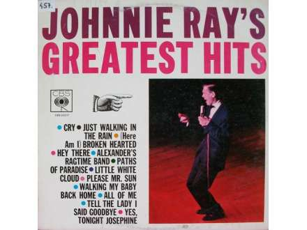 Johnnie Ray - Johnnie Ray`s Greatest Hits