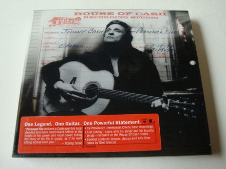 Johnny Cash - Personal File (2xCD)