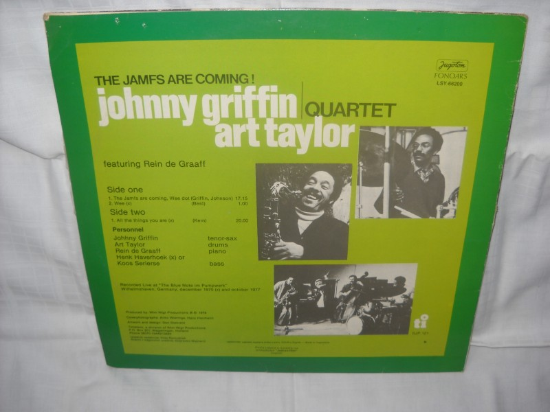 Johnny Griffin, Art Taylor Quartet - The Jamfs Are Coming!